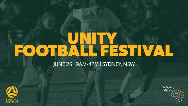 Football Australia to host a Unity Football Festival for Refugee Week