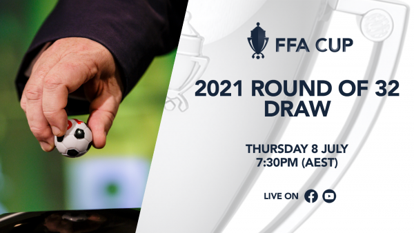 FFA Cup 2021 Round of 32 Live Draw