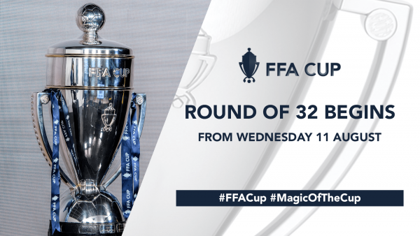 FFA Cup 2021 begins transition to weekend matches as Round of 32 Fixture Schedule Confirmed