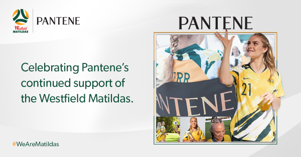 Pantene and Football Australia strengthen partnership to inspire Aussie women and girls