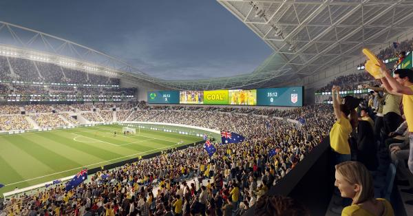 Venue for FIFAWWC 2023 Final gets new giant video screen