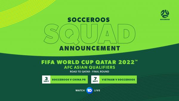 September Squad Announcement