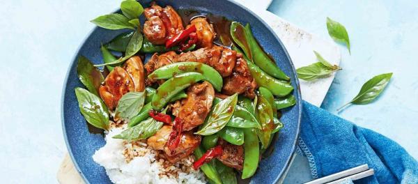 Thai Basil Chilli Stir-Fry