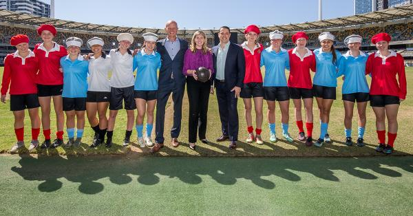 Australian football celebrates 100 years of women's football progress