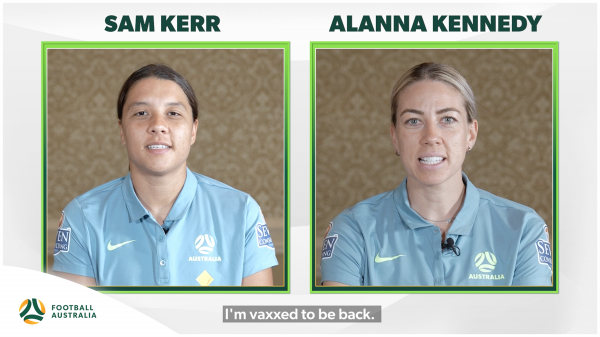 Football Australia launches '#VaxxedToBeBack' initiative in support of government vaccination campaigns