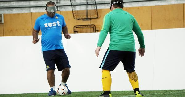 World Sight Day: Learn more about Australian Blind Football