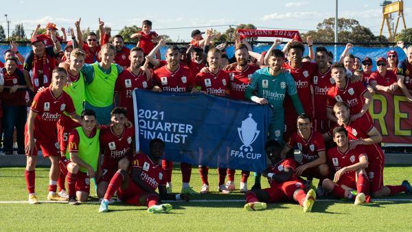 Adelaide United break Australian National Cup winning record