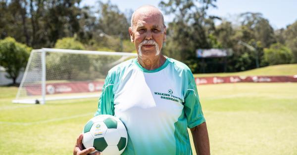 Meet David George, the Walking Football convert kicking goals in Greenbank