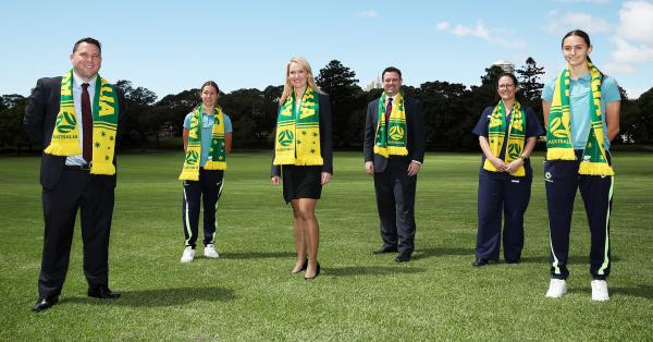 Healthcare workers rewarded with tickets to Matildas mega matches