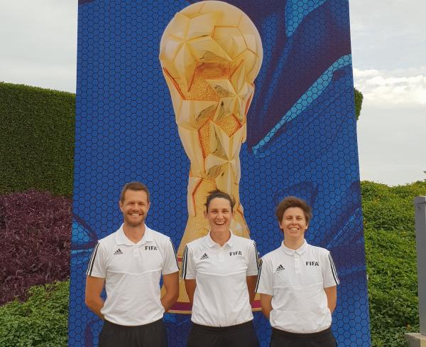 Australian Match Officials attend the FIFA Women's World Cup France 2019 Referee Seminar